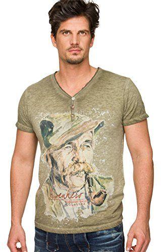 #Trachten #T-Shirt #Wiggal #kiesel, #S - Trachten T-Shirt Wiggal kiesel, S…