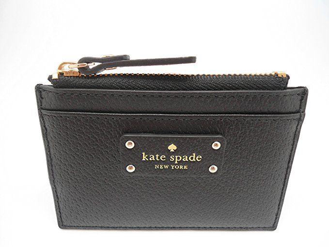 d86660f59e58 Kate Spade New York Adi Grove Street Pebbled Leather Card Wallet ...