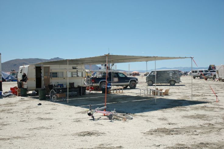 Burning Man Shade Structure | Pictures of shade structures via frompo