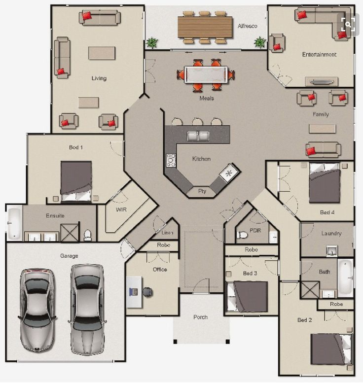 O vestíbulo vira alpendre, o escritório vira armazenamento na garagem e precisa de uma lareira …   – Haus bauen