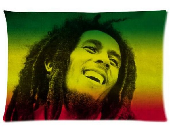 Cool Bob Marley Best pillow cases  (two sides) for 16x24 inch Free shipping #Affiliate