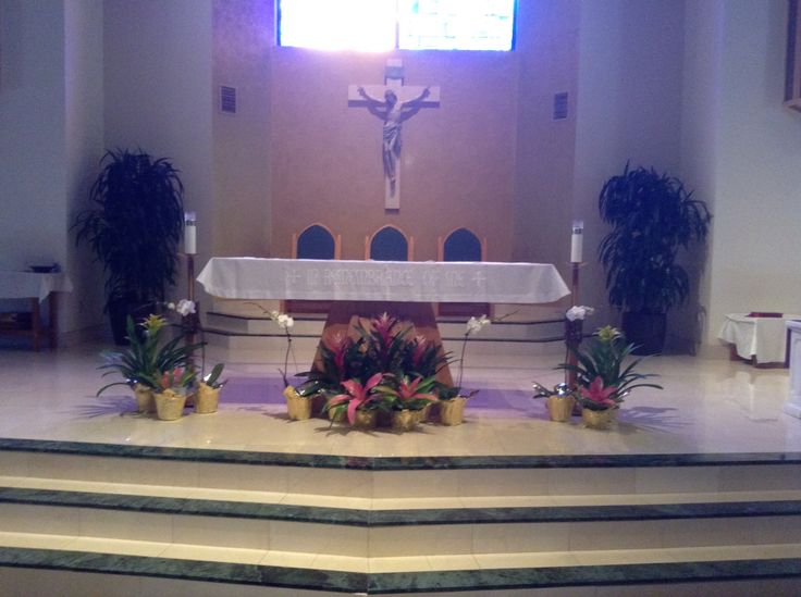 Holy Thursday 2016 main altar