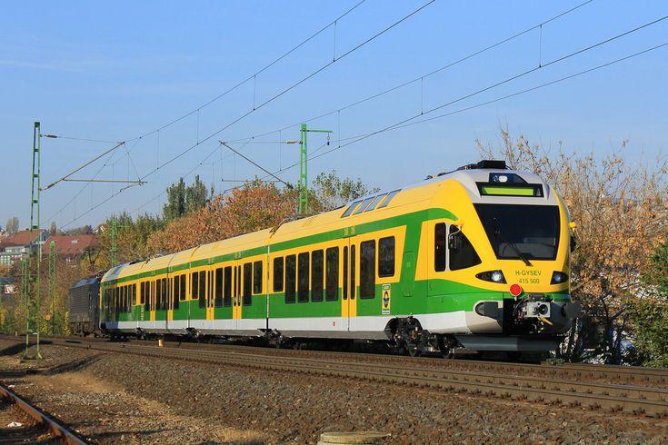 GySEV 415 500 at Kelenfold