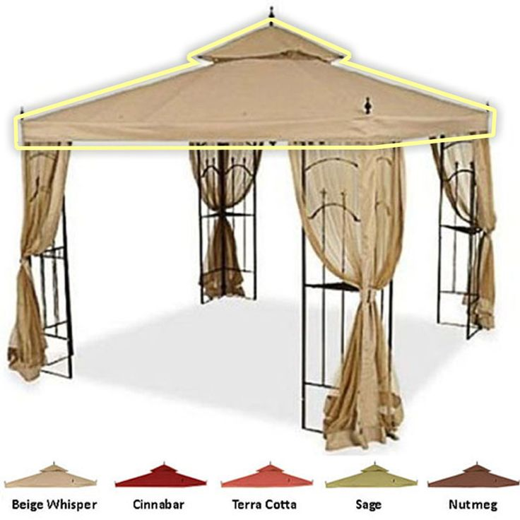 Arrow Gazebo Replacement Canopy - RIPLOCK 350