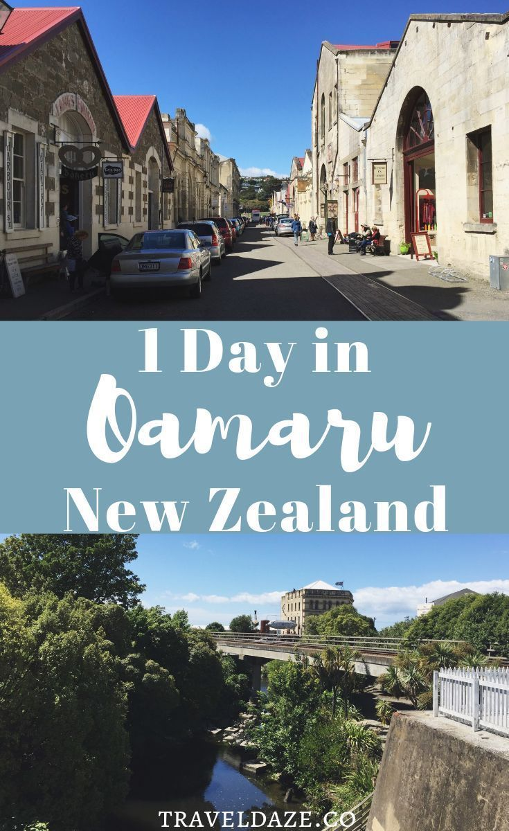 1 Day in Oamaru, New Zealand. A quick guide to the perfect day in Oamaru. This itinerary is filled with architecture, penguins, and steampunk!