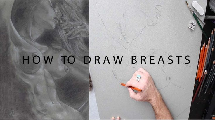 How to draw breasts