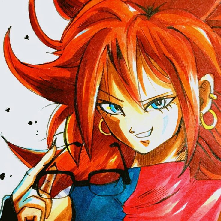 24 best android 21 images on pinterest anime girls android and dragon ball - Dragon ball z 21 ...