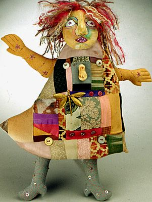 3-D Doll Construction - Healing and Transformative Dolls - Pamela Hastings