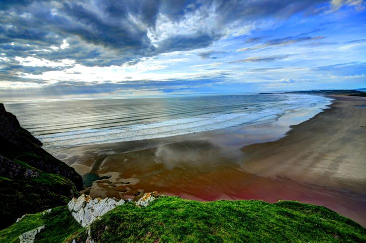 Wales-Rhossili Beach by Francesco Cetta on 500px