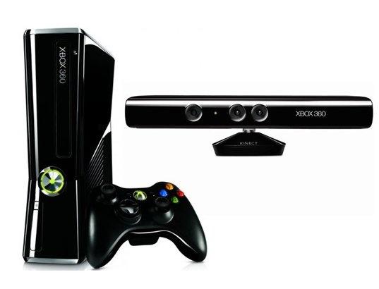 Console Xbox 360 MICROSOFT 250 Go + Kinect