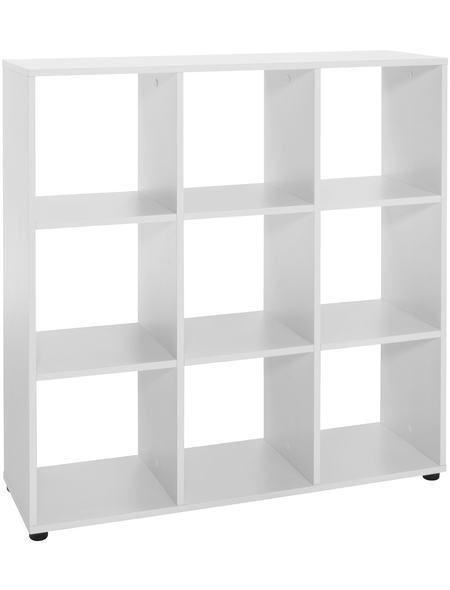 Raumteiler-Regal »9 Fächer«, Breite 94,4 cm Jetzt bestellen unter: https://moebel.ladendirekt.de/wohnzimmer/regale/raumteiler/?uid=eecbe499-b0fc-5e65-9afd-e796d0ae6a13&utm_source=pinterest&utm_medium=pin&utm_campaign=boards #wohnzimmer #raumteiler #regale