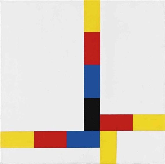 Max Bill: 1-4 um excentrum IV, 1969