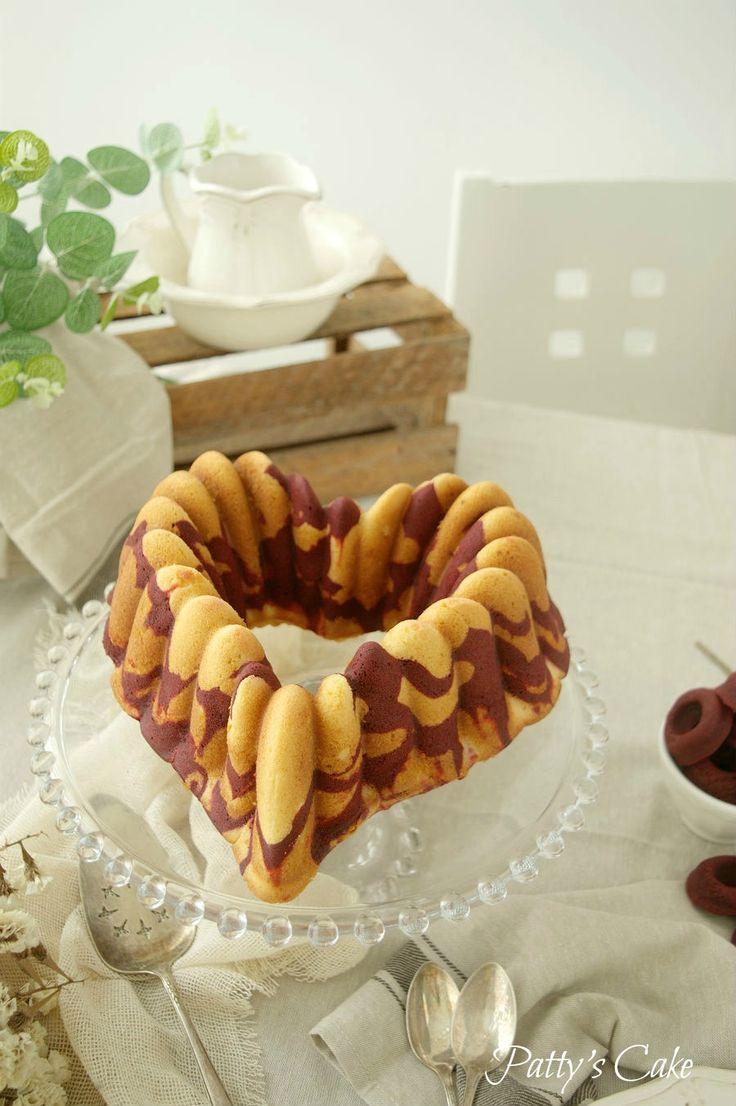 BIZCOCHO BUNDT CAKE ROJO TERCIOPELO MARMOLADO, TAN SIMPLE Y TAN DELICIOSO (Scroll down for the English recipe) Estaba yo decidiendo con ...