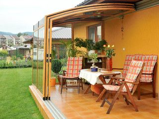veranda per balcone apribile