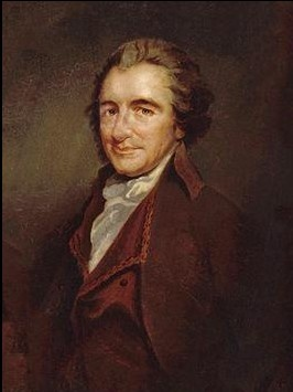 """""""I love the man that can smile in trouble, that can gather strength from distress, and grow brave by reflection. 'Tis the business of little minds to shrink; but he whose heart is firm, and whose conscience approves his conduct, will pursue his principles unto death."""" –Thomas Paine, The Crisis, No 1, 1776"""