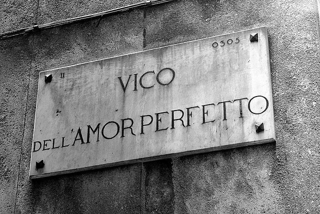 "Need the ""Road of Perfect Love""? It's in Italy, of course... in Genova!"
