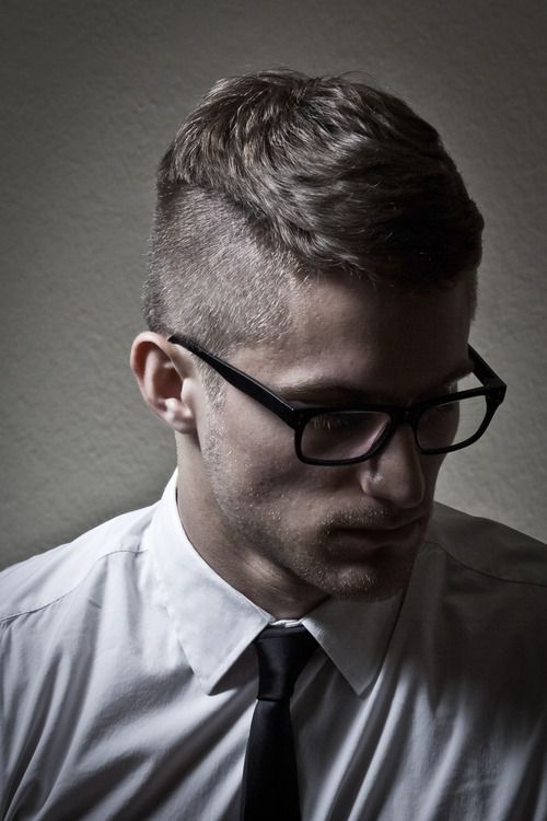 Astonishing Cool Hairstyles For Men With Glasses Ideas And Pictures Hairstyles For Men Maxibearus