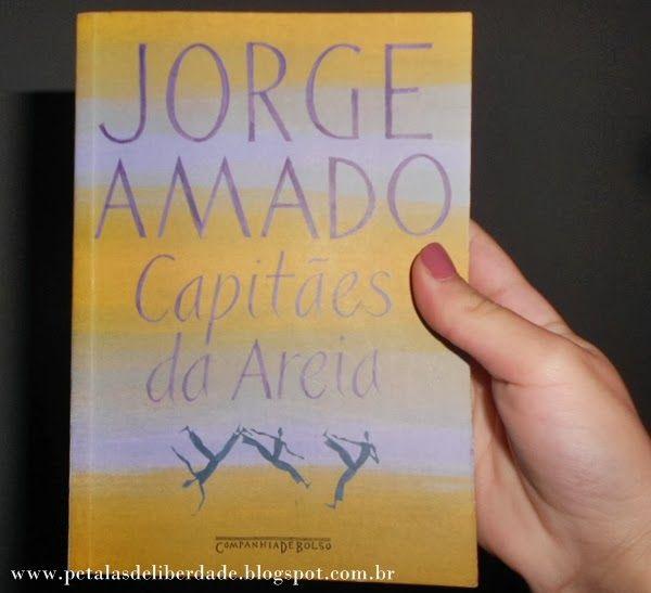 Livro Capitães da areia, Jorge Amado.