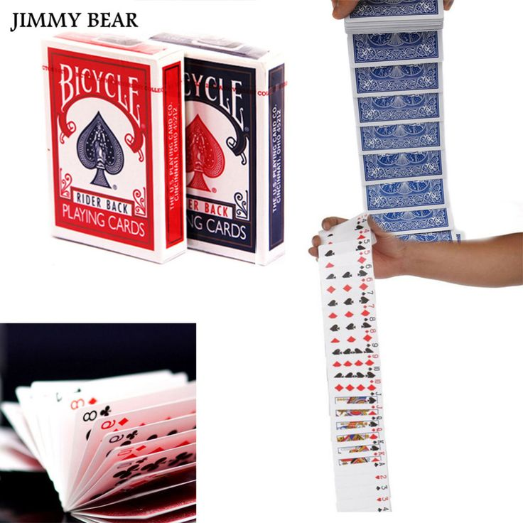 JIMMY BEAR 2 Set Deck Magic Props Card Magic Trick Stage Acrobatics Waterfall Cards. Yesterday's price: US $16.19 (13.47 EUR). Today's price: US $10.36 (8.57 EUR). Discount: 36%.