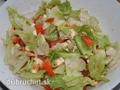 Fotorecept: Zeleninový superrýchly šalát