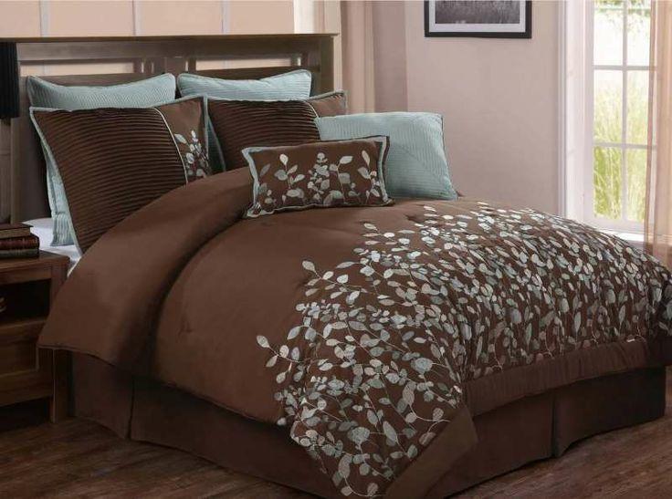 Jardin Brown 8 Piece Comforter Set For 107 98 From Bedding