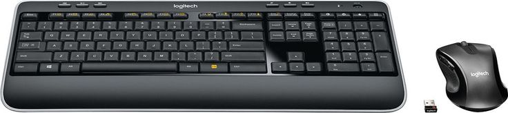 Logitech - MK530 Advanced Wireless Keyboard and Optical Mouse, 920-008002