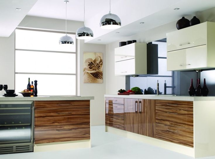 Olive Wood Zebra Zebrano Gloss Complete Kitchen Units New Not Used Or Ex Display Olives