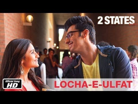 As #2States fever is around so lets make it more warm by listening to fun peppy track Locha-e-ulfat starring #ArjunKapoor & #AliaBhatt