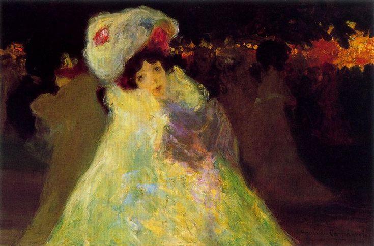 Hermenegildo Anglada Camarasa (Barcelona, 1871-1959) ~ París la nuit