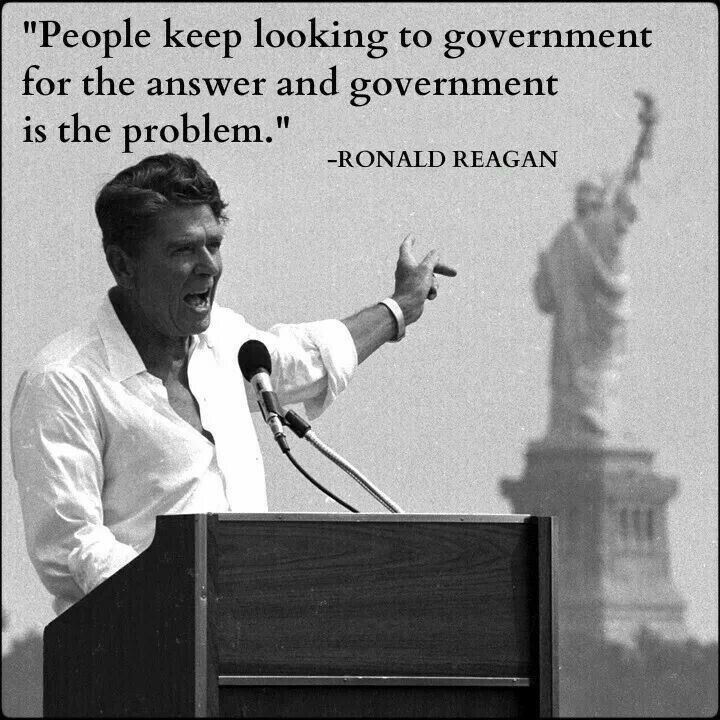 Government is the problem
