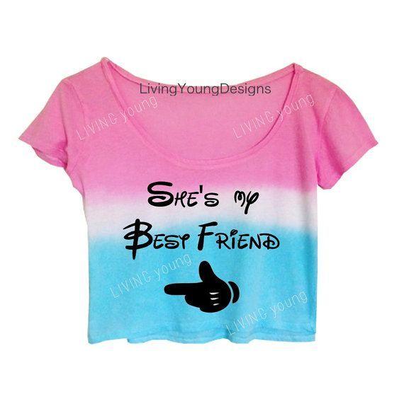 She's My Best Friend Crop Top #tiedye #bestfriend ...