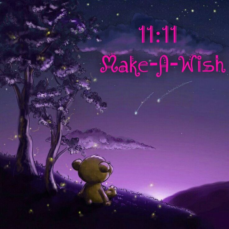 1111 makeawish 1111 comes twice a day because