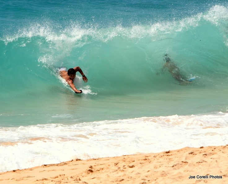Sandy Beach Aka Sandys Or Break Neck South Shore Oahu Hawaii Awesome Bodysurfing Spot Ultra Wicked Shorebreak August 2012