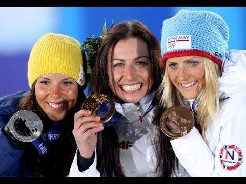 Justyna Kowalczyk Złotą Medalistką w biegu na 10km Soczi 2014 Sochi Olympics 2014