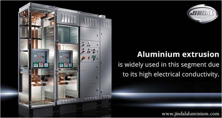 Aluminium extrusion is widely used in this segment due to its high electrical conductivity. Aluminium has significant cost and weight advantages over copper and is now the preferred material for electricity transmission and distribution uses. Customers like Power grid, NTPC, BHEL, ABB, GE, Siemens, Schneider etc use aluminium for their various applications. #JAL #Aluminium  http://www.jindalaluminium.com/extrusion-transmission-distribution.php