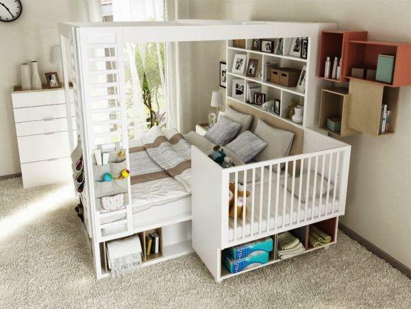 Studio Barw - świat wnętrz z dziecięcych snów: 5 sposobów na urządzenie sypialni rodziców niemowlaka