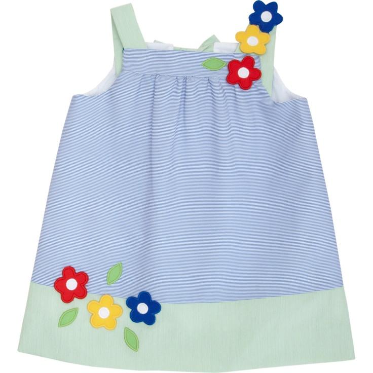 Florence Eiseman Flower Applique Dress