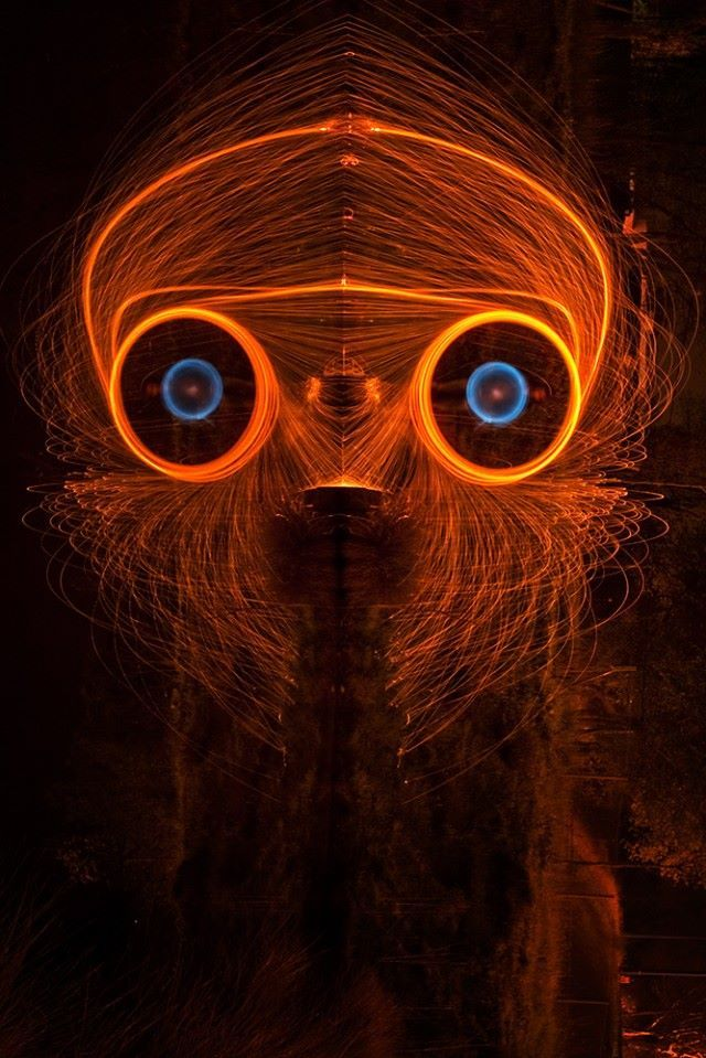 Painting With Light by Nicolas Rivals