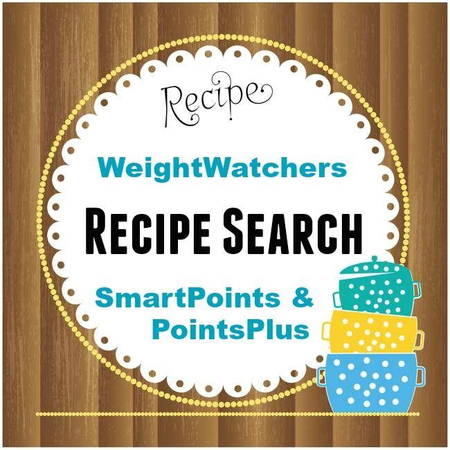 weight watchers recipe search smartpoints pointsplus. Black Bedroom Furniture Sets. Home Design Ideas