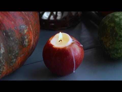 Festive Apple Candle Holders | At Home With P. Allen Smith