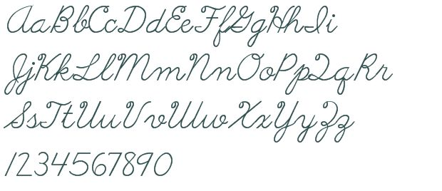 cursive letters fonts download best 25 handwriting fonts alphabet ideas on 9505