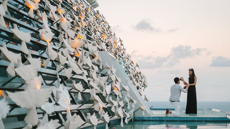 Arthur had his Bali Surprise Proposal photography all planned out: he would pop the question to his girlfriend, Karman, using a low-key proposal and ended with a romantic dinner at the Luxury Dove Chapel of Banyan Tree Resort Bali. #bali   #baliphotographer   #baliweddingphotographer   #baliweddingphotography   #proposalphotography   #banyantree   #engagementphotography