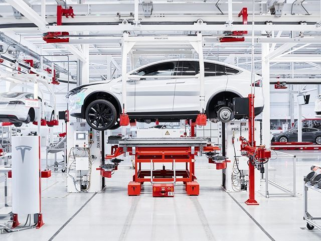 110 Cars Are Made Each Day At The Tesla Factory In Tilburg And