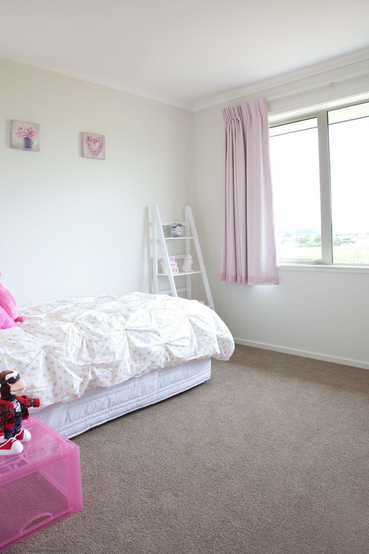 A cute little girls room.