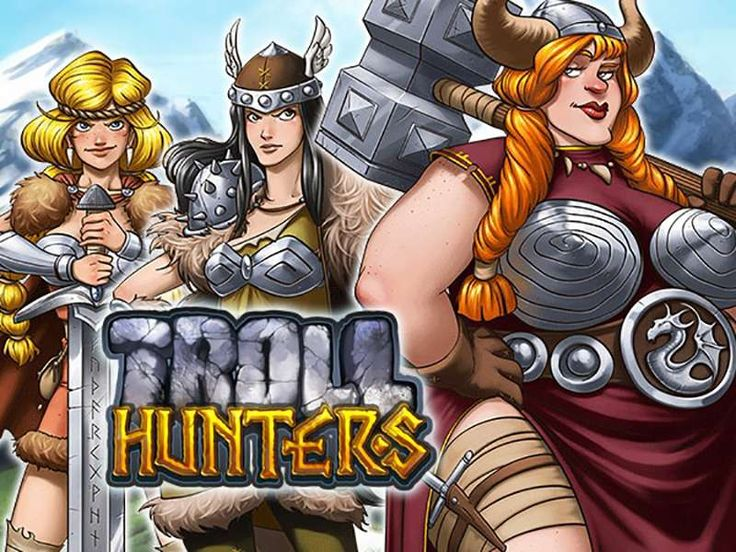 Play Troll Hunters free slot, take on an exciting adventure in faraway mountains and forests, combat the trolls, and earn some cash! This free online Troll Hunters slot machine game was created by Play N Go, which had a slightly unorthodox approach in this slot, which will be discussed further in the text. http://free-slots-no-download.com/playn-go/5565-troll-hunters/