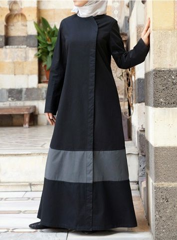 Valeria Jilbab Save 50%  Contemporary design and minimalist details keep this monochrome jilbab simple and modern. The Valeria Jilbab takes a step back from tradition without compromising modesty. The streamlined details keep this look flattering, while the breathable fabric ensures you always keep your cool. The understated details and precision fit make this dress a truly unique addition to your modest wardrobe.