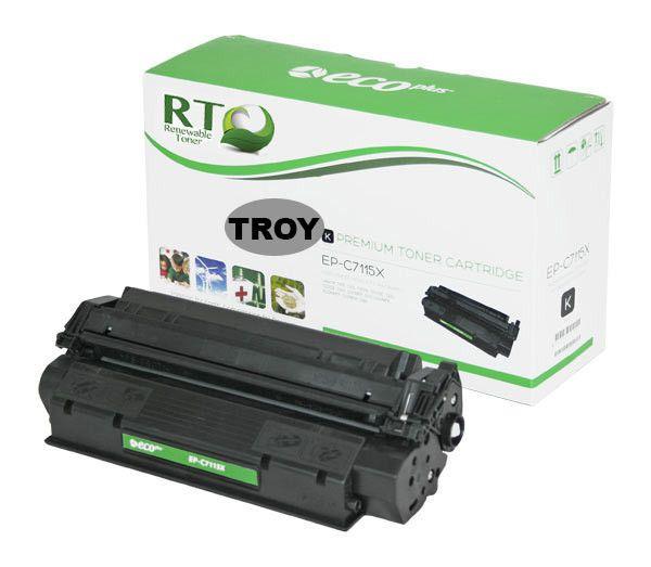 TROY 02-81080-001 | HP C7115X (15X) MICR Toner Cartridge