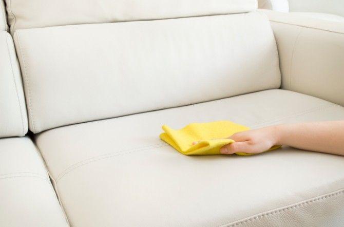 Как очистить пятна от мочи на диване