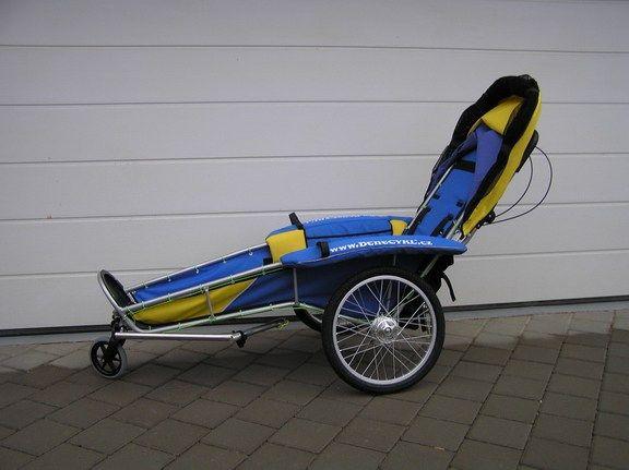 Fahrrad Anhänger / Jogging Kinderwagen