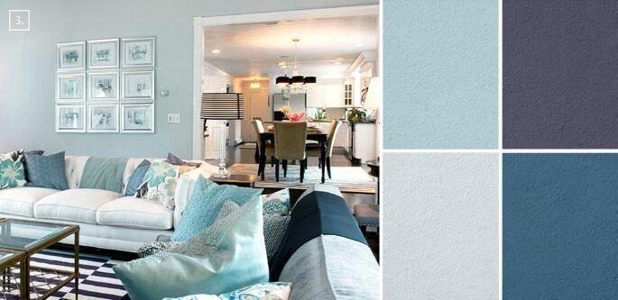 33 Trendy Living Room Colors, Trendy Living Room Color ...